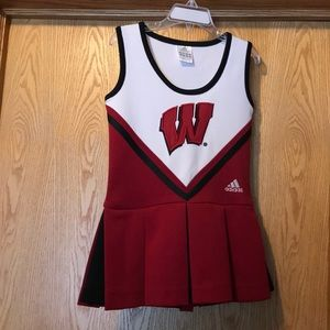 UW-Madison Wisconsin Badgers cheerleader dress